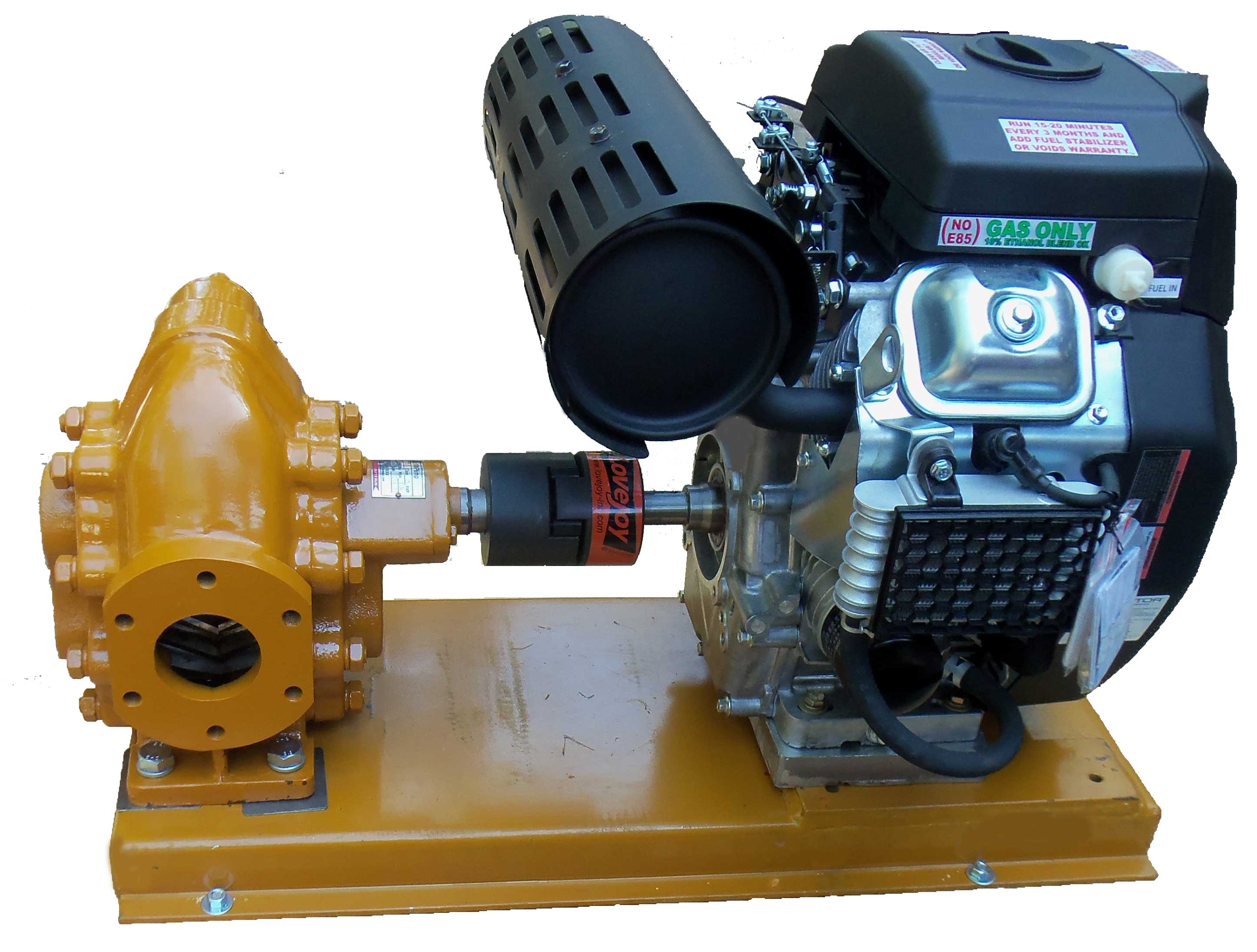 Gas powered oil Transfer pump 200 GPM
