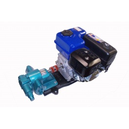 6.5 HP Gas Powered WVO Waste Motor Oil Pump