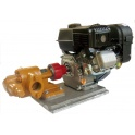 Gas Powered WVO Oil Transfer Pump