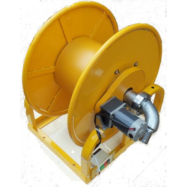 Motorized hose reel us filtermaxx for 12 volt hose reel motor
