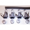30 Foot by 2 Inch WVO Pump Suction Hose Kit