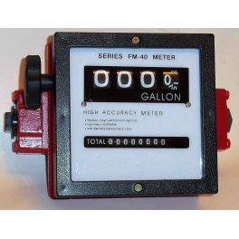 High Flow Fuel Meter  High Accuracy